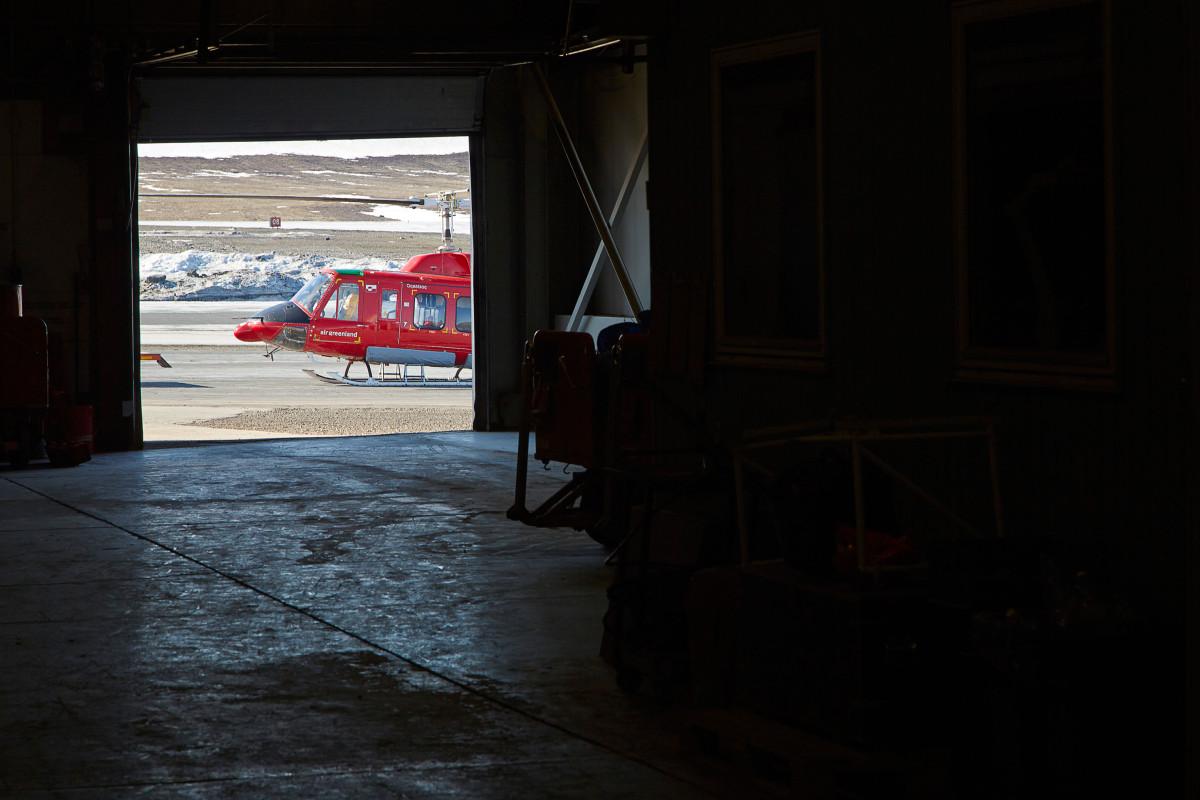 Thule airbase, Pittufik, Air Greenland